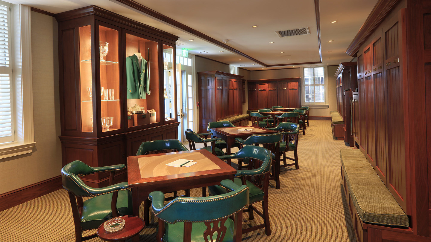 12 >> Article - Inside the Iconic Clubhouse - 2017 Masters Tournament
